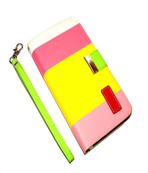 Iphone 66s 47 Inch Clear View Leather rka apple iphone 6 4 7 inch leather flip designer stripe