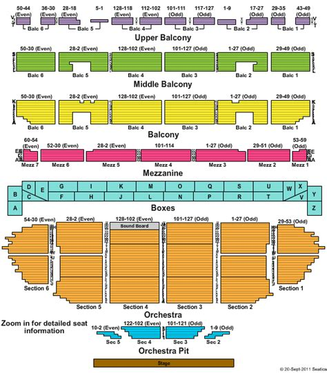 fox seating chart st louis clarkson fabulous fox theatre tickets