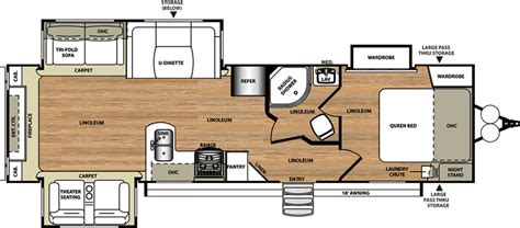 wildwood rv floor plans 2017 forest river wildwood heritage glen 299re cing
