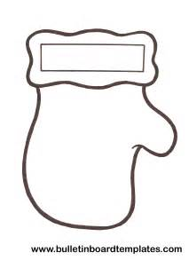 winter mitten template mitten template cut these out for a craft with the