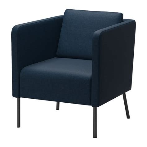 In A Blue Armchair by Eker 214 Chair Skiftebo Blue
