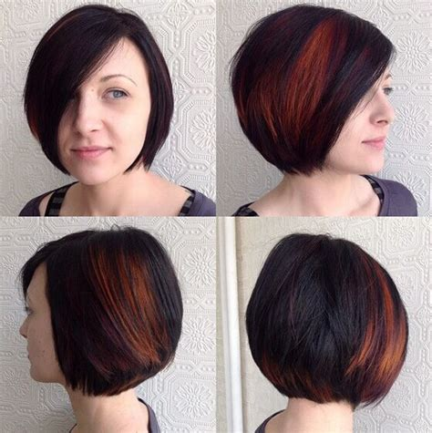 short hair cut style vith high lite 22 popular bob haircuts for short hair pretty designs