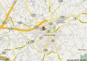 map of hometown inn lawrenceville lawrenceville
