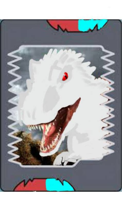 dinosaur king painting indominus rex dinosaur king card by dinosaurking240 on