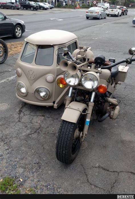 Motorrad Coole Spr Che by Kabinenroller Mit Motorrad Lustige Bilder Spr 252 Che