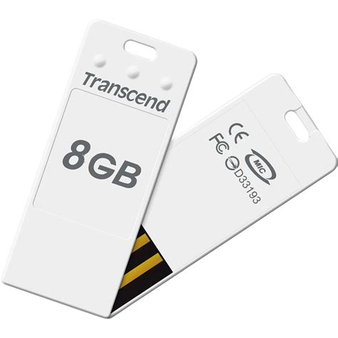 Flash Disk Transcend 8gb transcend 8gb jetflash t3 miniature flash drive white