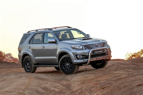 Toyota Fortuner Epic launched in South Africa