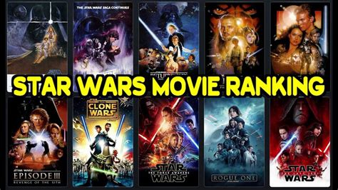 film bioskop terbaru star wars ranking every star wars movie including the last jedi