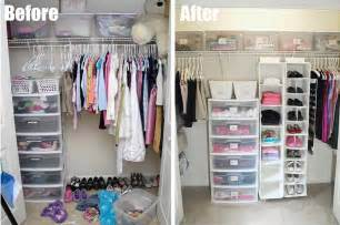 before and after organizing my 7 total closet makeover living rich on lessliving rich on less