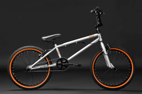 Bmx Freestyle 20 quot bmx bike freestyle fahrrad rad crxx silber orange 638b