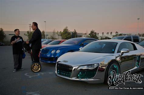 sriracha car west coast customs audi r8 tron by west coast customs 6 car news