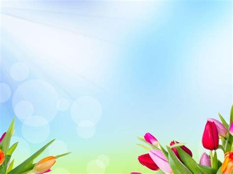 Spring Powerpoint Templates Listmachinepro Com Flowers Powerpoint Template