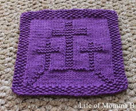 Superb Free Knitting Patterns For Christmas Dishcloths #1: Easter-dishcloth.png