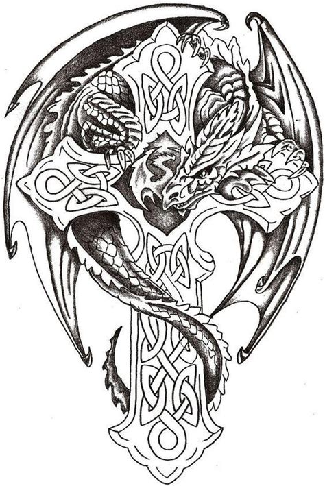 tattoo pictures color celtic tribal tattoos coloring pages tattooic