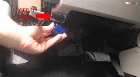 Obd Port In Cars by How To Use Phone As A Car Code Reader Bluetooth Obd2