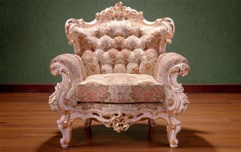 antique world rococo style in furniture