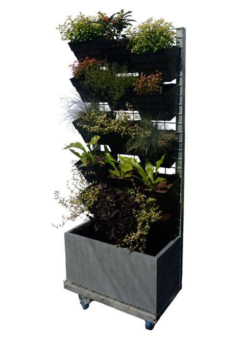 Freestanding Vertical Garden Vertical Garden And Wicking Bed Products Think Vertical