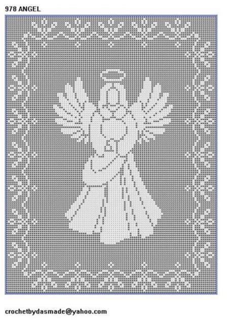 Filet Crochet Patterns For Home Decor 10 christmas filet crochet patterns nativity santa angels