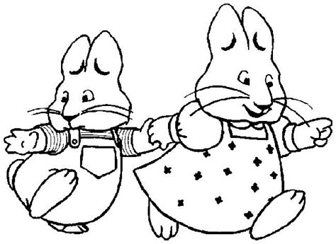 nick jr coloring pages max and ruby mejores 10 im 225 genes de max and ruby en pinterest p 225 ginas