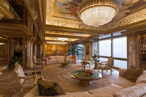inside trumps penthouse behind every rich man an interior decorator