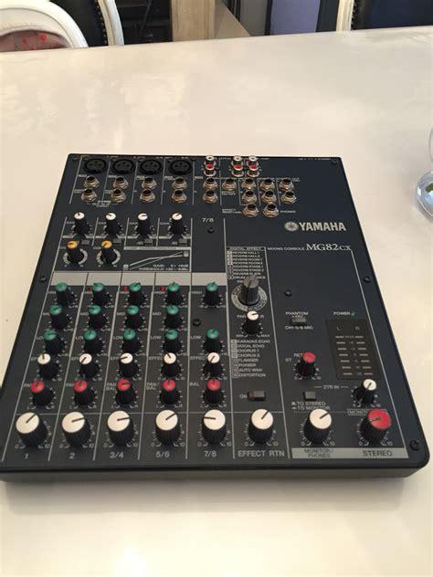 Terbaru Mixer Yamaha Mg82cx yamaha mg82cx image 1081471 audiofanzine