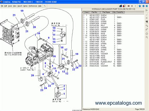 komatsu germany 2012 spare parts catalog heavy technics