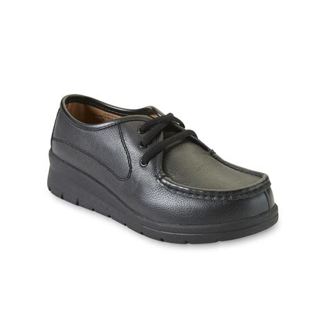 Cobbie Cuddlers Women S Cacey Black Leather Comfort Shoe