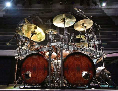 Set Drum Pearl Merah Asik live gear 171 todd sucherman