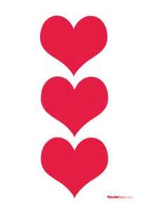 corazones imgenes de corazones dibujos de corazones imprimibles de corazones revista fiestafacil