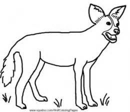 wolf and other wild dogs facts and coloring pages