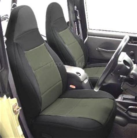 2000 Jeep Wrangler Seat Covers Jeep Wrangler Tj Car Seat Covers In Black Pink With