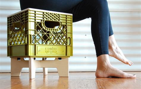 Milk Crate Furniture by Xtool A Crate Ful Stackable Storage Stool Arredativo
