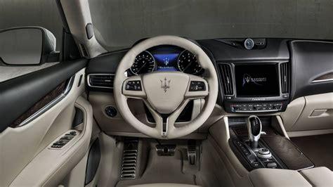maserati levante dashboard 2018 maserati levante luxury suv maserati usa