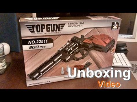 Ausini Gun Magnum Revolver unboxing of ausini bricks gun magnum revolver lego