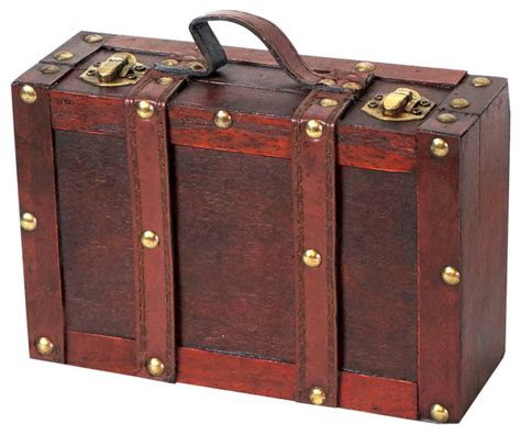 fashioned suitcase traditional decorative