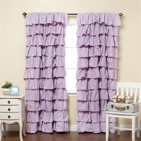curtains with ruffles ruffle curtain home sweet home