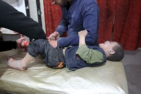 attacks child children among dozens killed in syria chemical attack news18