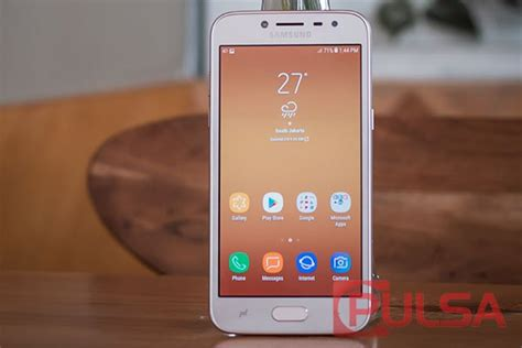 Samsung J2 Koran Pulsa Pulsa Review Review Samsung Galaxy J2 Pro 2018 Layar