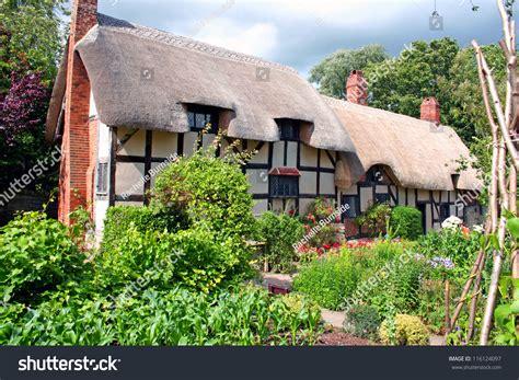 Hathaway Cottage Stratford by Hathaways Cottage Stratforduponavon Stock