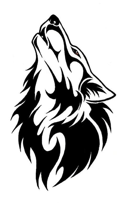 howling wolf tattoo designs howling wolf and moon design