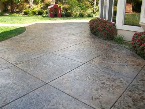 Poured Concrete Patio Best 25 Concrete Patios Ideas On Poured Concrete Patio Designs