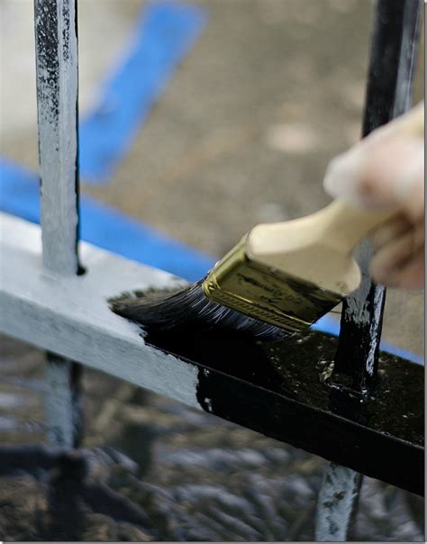 painting iron how to paint wrought iron it all started with paint