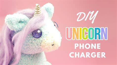 diy battery socks diy unicorn phone charger diy unicorn sock plush diy phone charger plush
