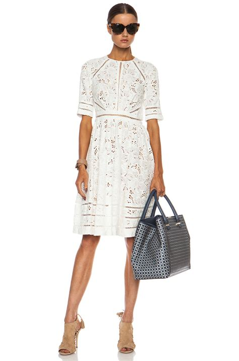 Dress Of The Day White Hoodie Dress by Zimmermann Roamer Day Cotton Dress In White Lyst
