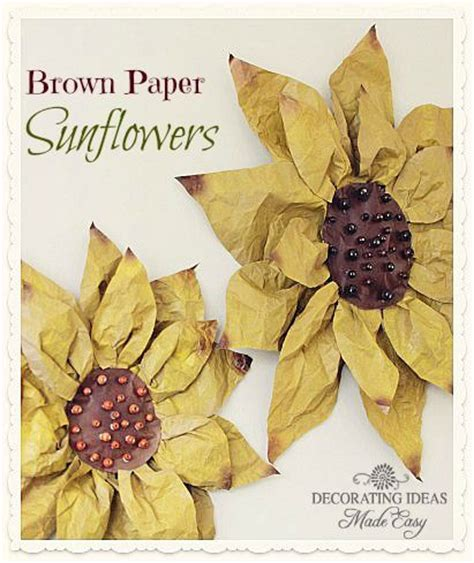 Brown Paper Crafts - 17 best ideas about brown paper bags on paper