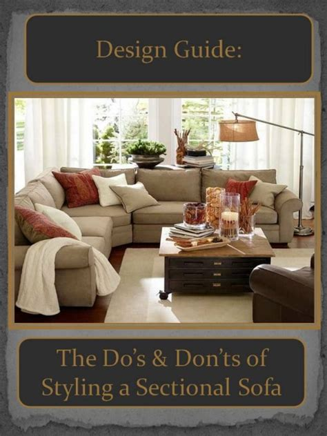 how to place a rug under a sectional sofa design guide how to style a sectional sofa confettistyle