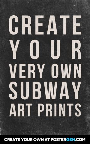 Subway Art Generator Related Keywords Subway Art Generator Long Tail Keywords Keywordsking Subway Poster Template