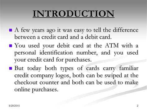 can you make purchases with a debit card debit card credit card smart card ppt