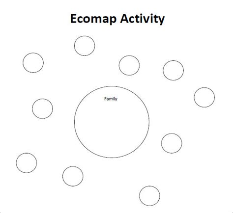 Eco Map Template by Ecomap Template Free 28 Images Pin Ecomap Sle On