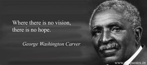 short biography george washington carver where there is no vision there is no hope george